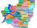 Карта Самарской области по районам и территориям