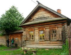 Дом-музей И.Е. Репина в с. Ширяево / фото: 445000.ru